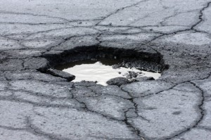 Asphalt Pot Hole - Everlast Blacktop Web