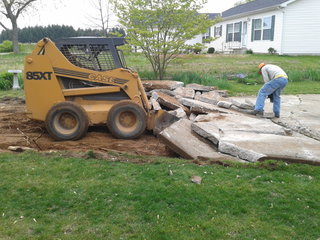 concrete driveway removal - web